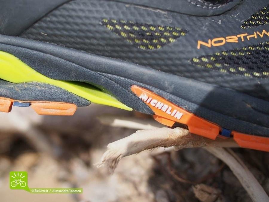 Michelin con Northwave insieme allo sviluppo del prodotto di Cedric Gracia hanno realizzato una scarpa mtb enduro coi fiocchi