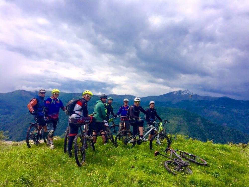 Il Bike Club Ecoday Zero Zero organizza ogni week end escursioni in mtb