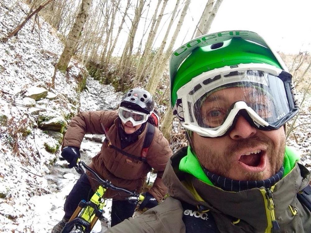 Non ci sono stagioni per pedalare nei pressi di Fanano, per il Bike Club Ecoday Zero Zero