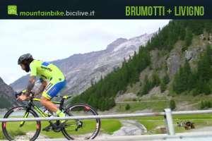 Una immagine dedicata al video di Vittorio Brumotti in azione a Livigno
