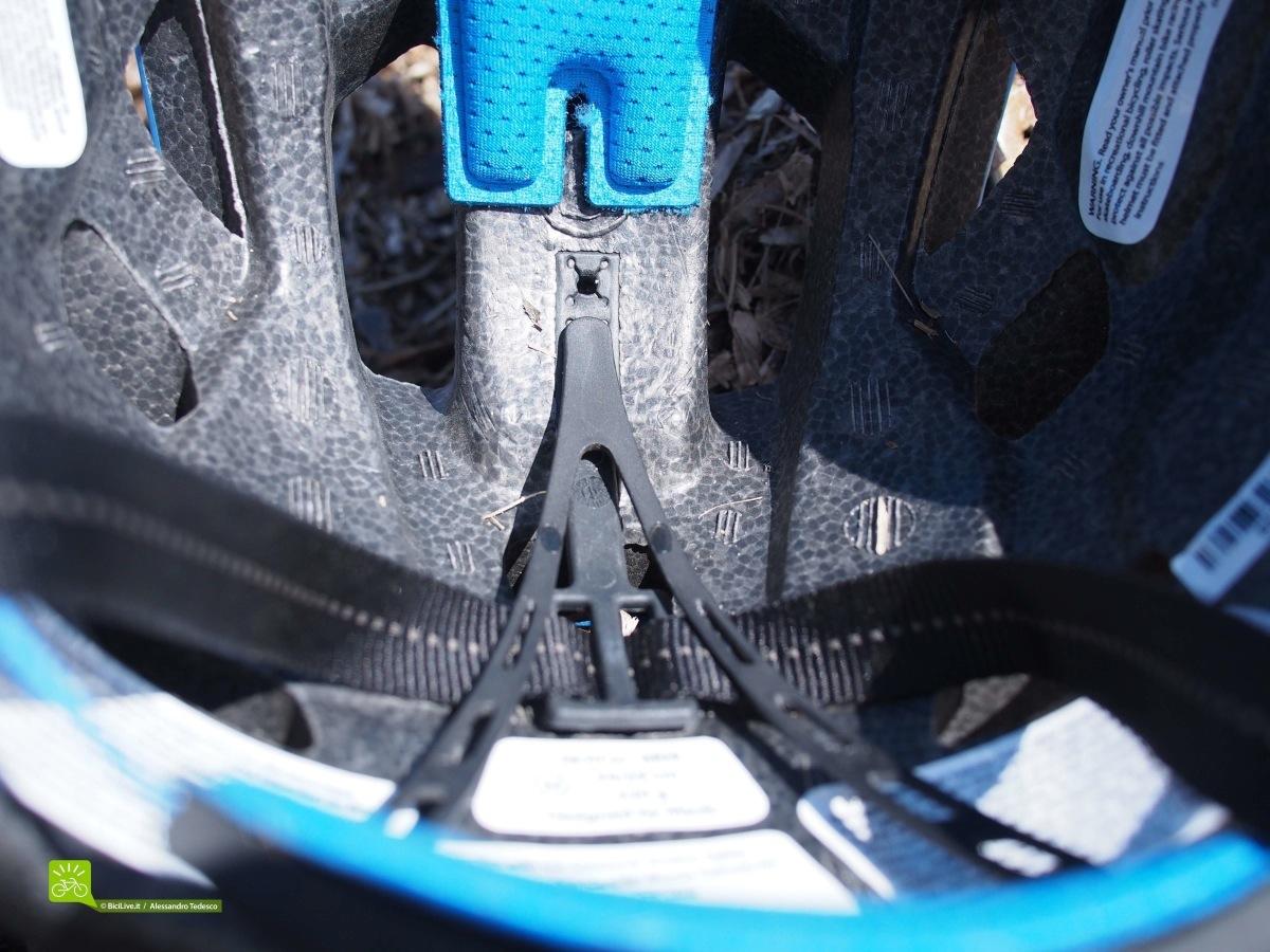 La regolazione verticale della chiusura posteriore con tre altezze