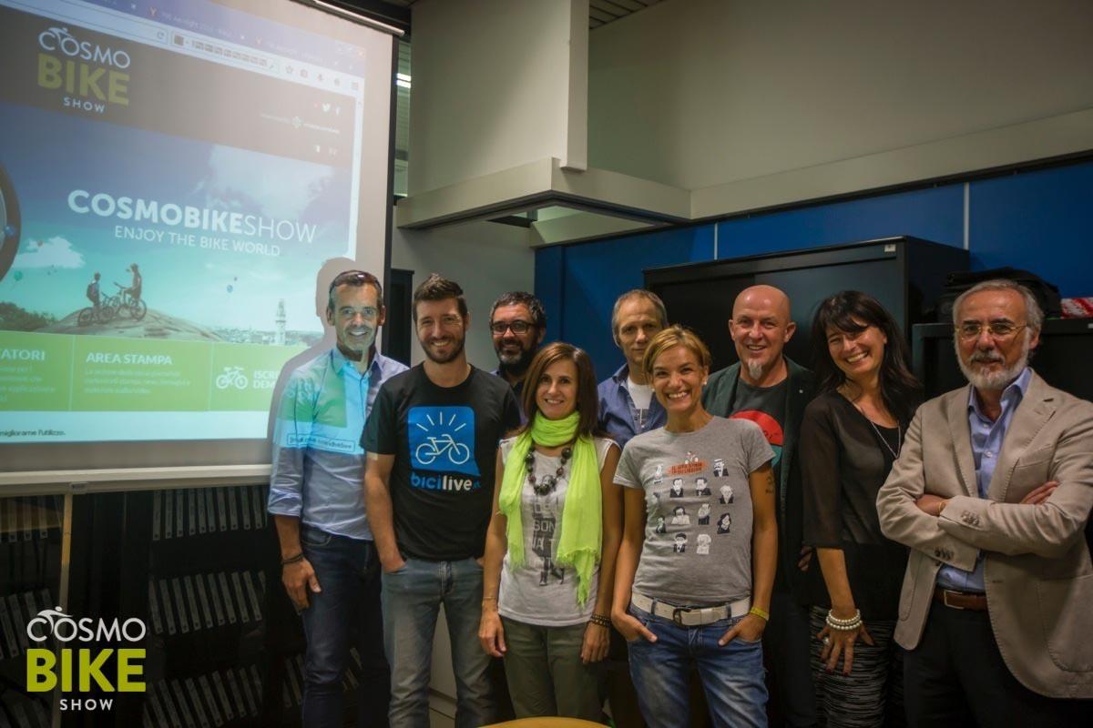 La Giuria dei CosmoBike Tech Award 2015