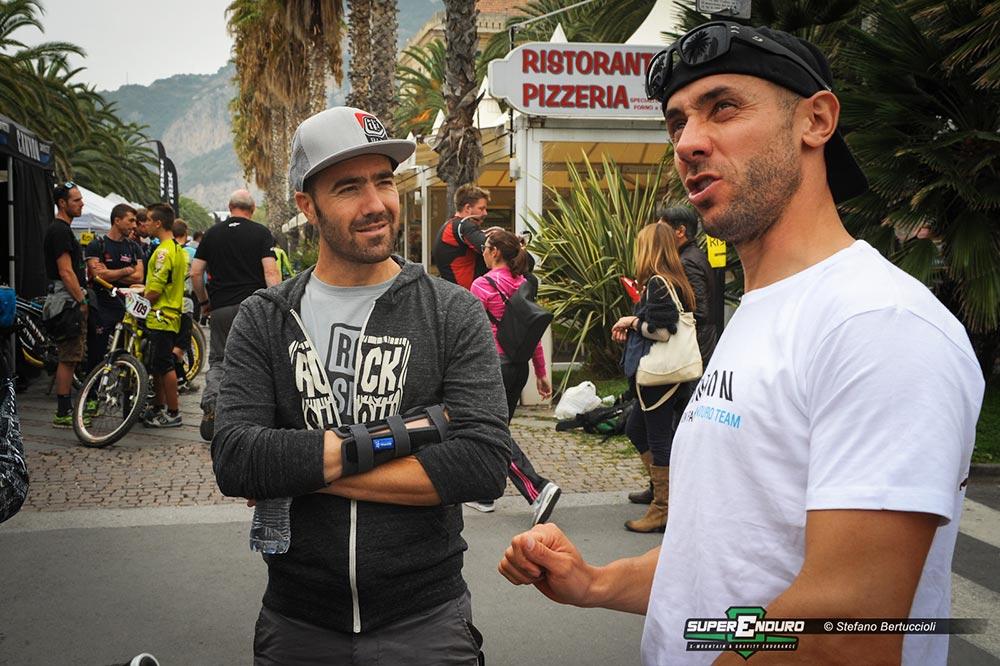 Nico Vouilloz e Fabien Barel