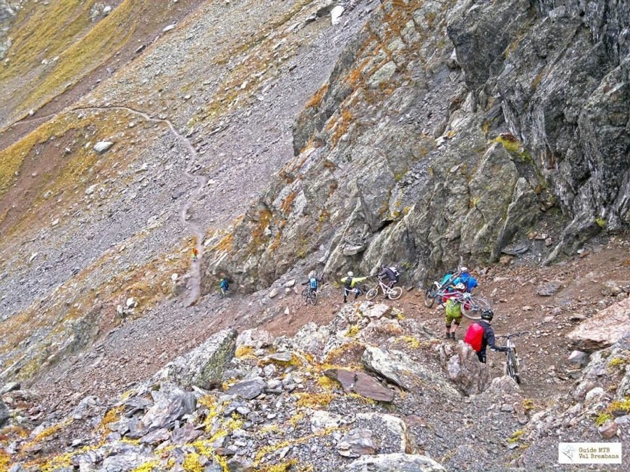 Sempre alla scoperta di nuovi sentieri per la mountain bike come quelli della Valtellina