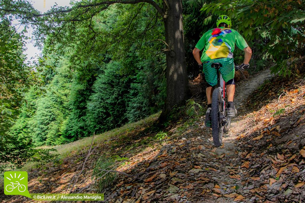 """Come con tutte le bici """"plus"""" la salita è percorrere senza fretta. Nella 6fattie le geometrie e il nuovo ammortizzatore Fox agevolano la pedalata."""