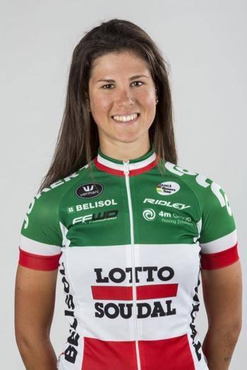 Dopo molte vittorie, Elena Cecchini ha conquistato anche la maglia tricolore