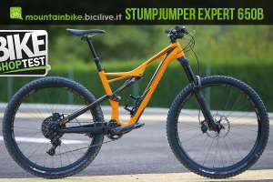 foto della Specialized Stumpjumper FSR Expert Carbon 650b 2016