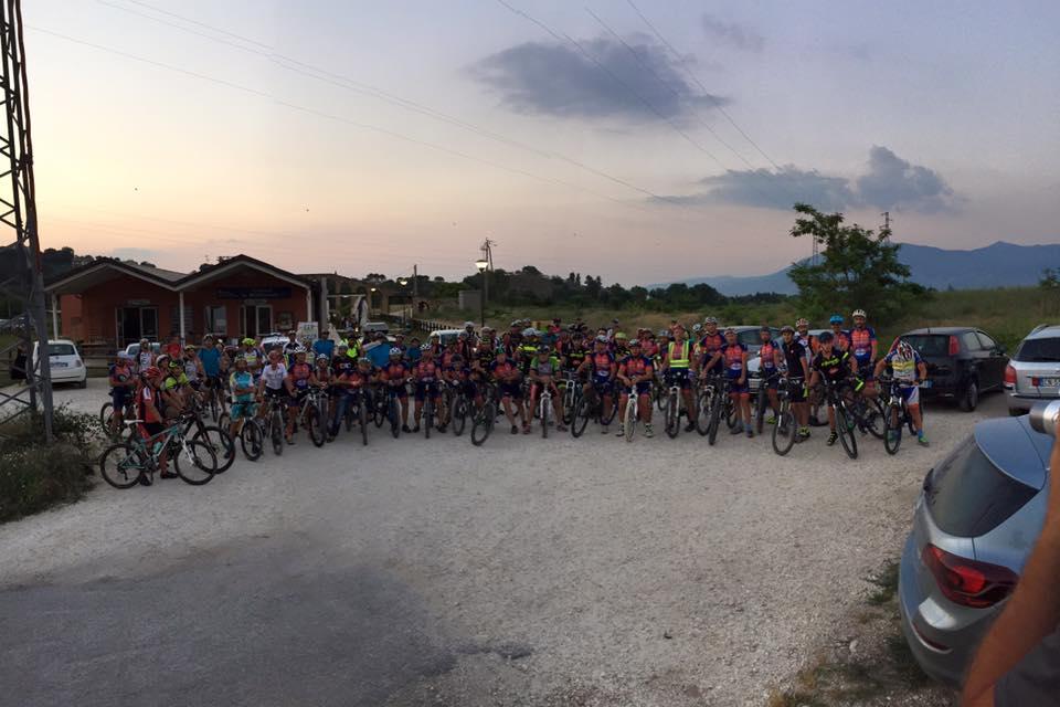 95 partecipanti in bicicletta alla prima edizione della Spoleto Pedala