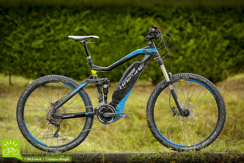 La Haibike SDuro RC, ebike full da 150mm
