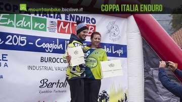 foto con i vincitori della Coppa italia enduro 2016 Casadei Rossin