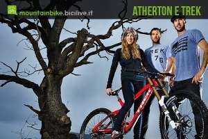 foto degli atherton con la nuova trek session
