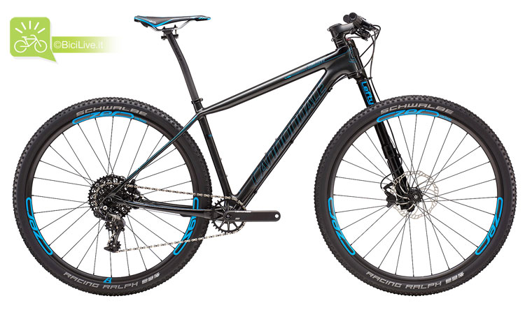 Cannondale F-Si Carbon 2, listino mtb Cannondale 2016