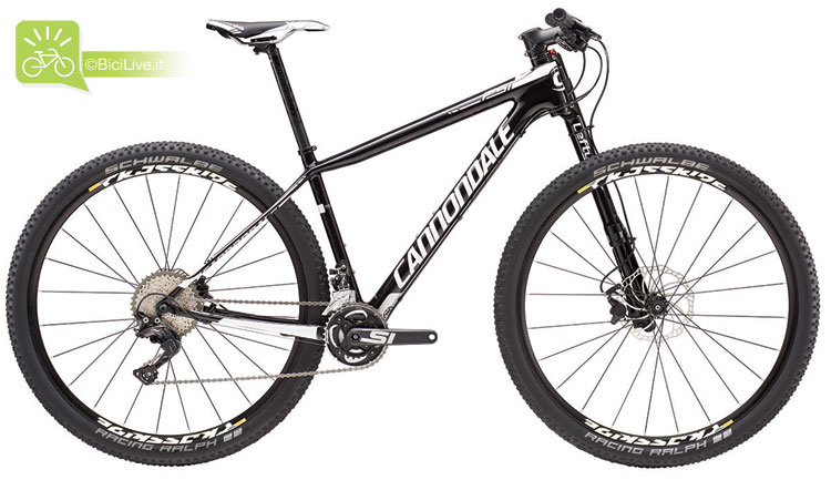 Cannondale F-Si Carbon 3, listino mtb Cannondale 2016