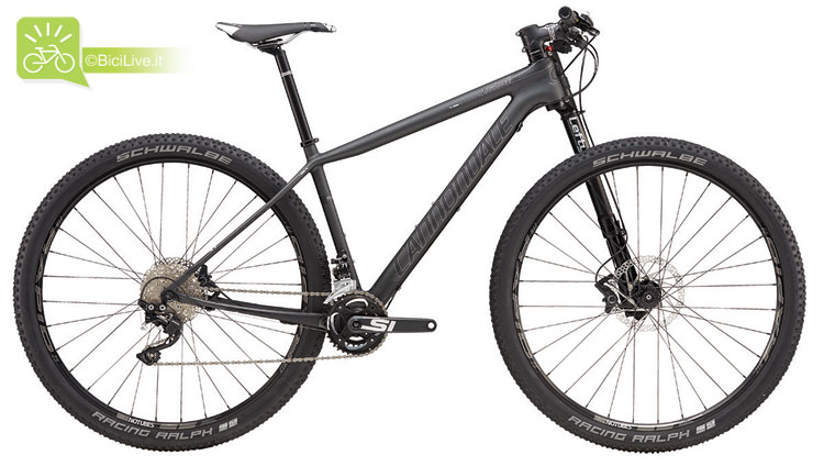 Cannondale F-Si Carbon 4, listino mtb Cannondale 2016