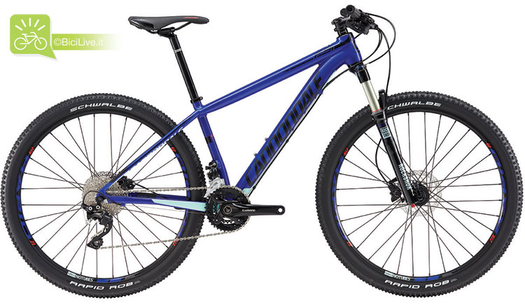 Cannondale F-Si Women's 1, listino mtb Cannondale 2016