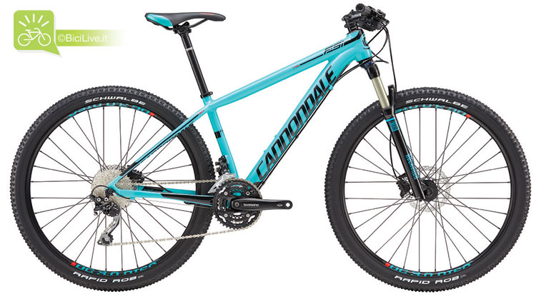 Cannondale F-Si Women's 2, listino mtb Cannondale 2016