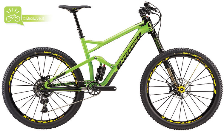 Cannondale Jekyll Carbon 1, listino mtb Cannondale 2016
