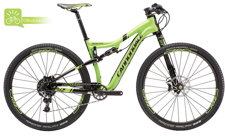 Cannondale Scalpel 29 Carbon Race, listino mtb Cannondale 2016