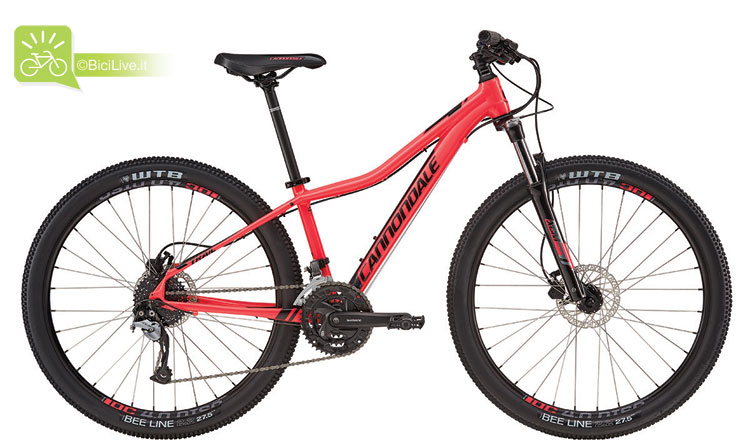 Cannondale Trail Women's 5, listino mtb Cannondale 2016