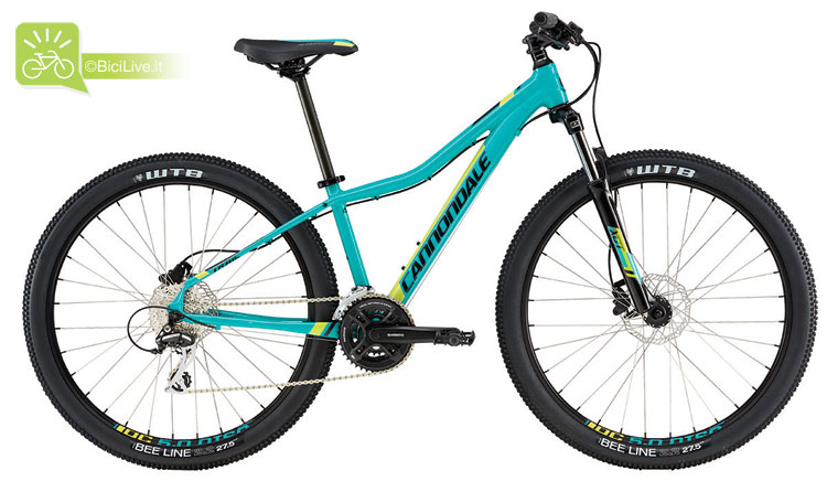 Cannondale Trail Women's 6, listino mtb Cannondale 2016