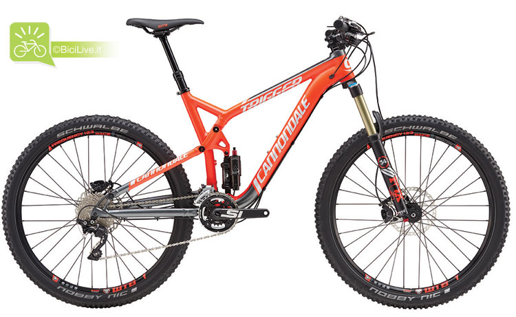 Cannondale Trigger 3, listino mtb Cannondale 2016