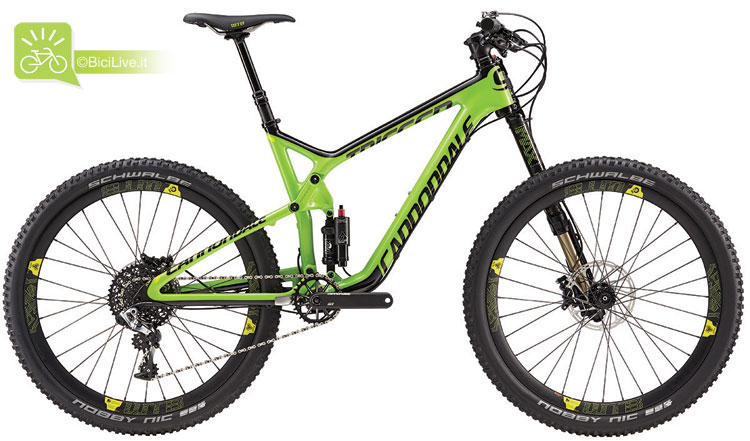 Cannondale Trigger Carbon 1, listino mtb Cannondale 2016