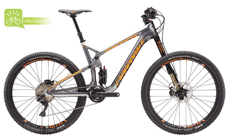 Cannondale Trigger Carbon 2, listino mtb Cannondale 2016