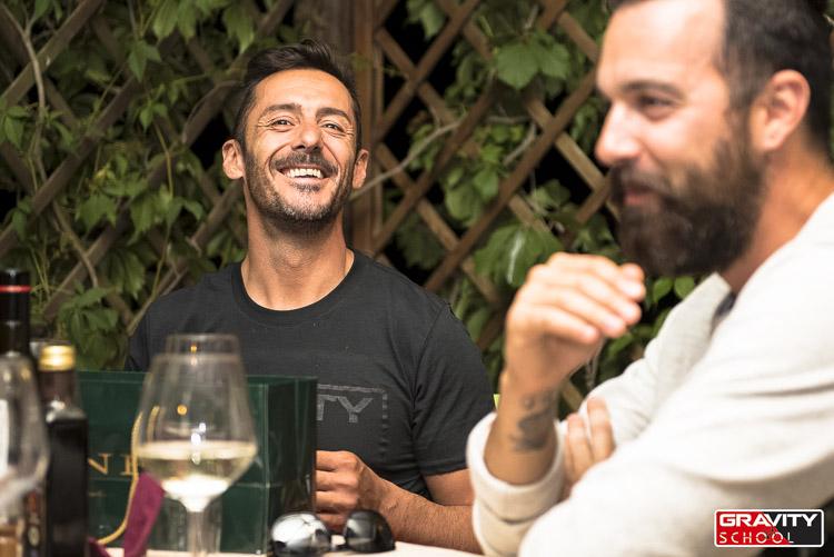 Cédric e Davide Cionini, grazie al quale tutto il weekend è stato possibile