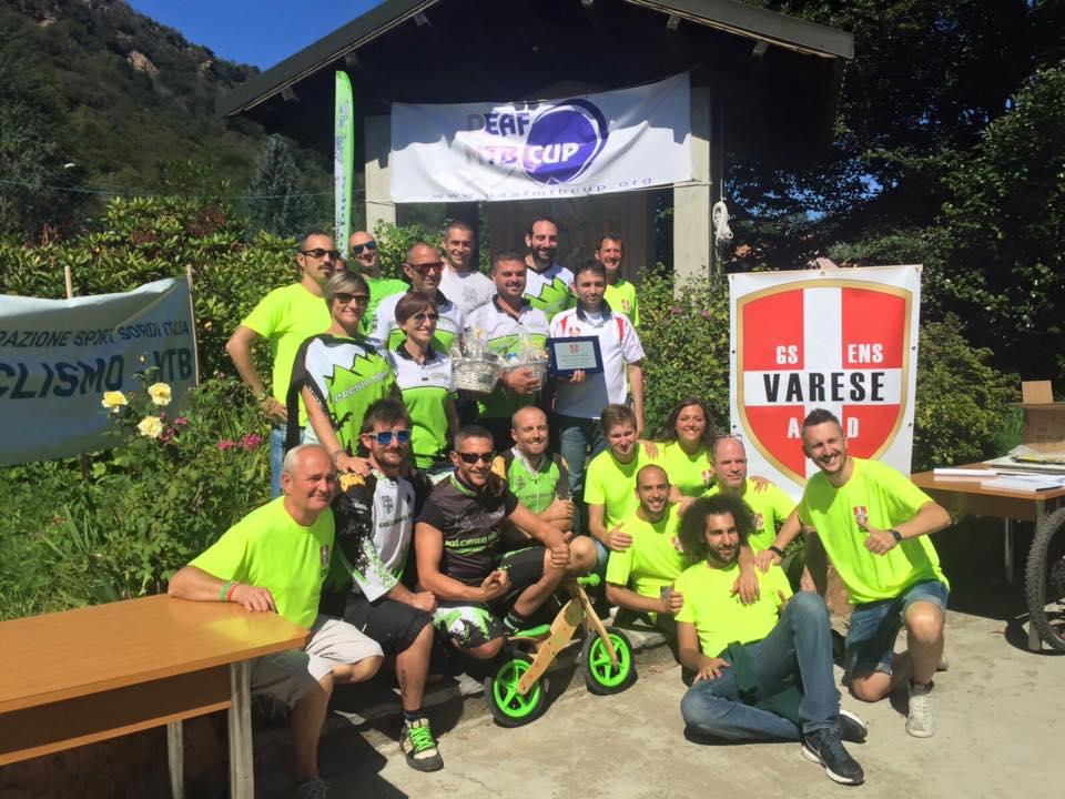 Il club mtb Valceresio ha oltre 100 iscritti.