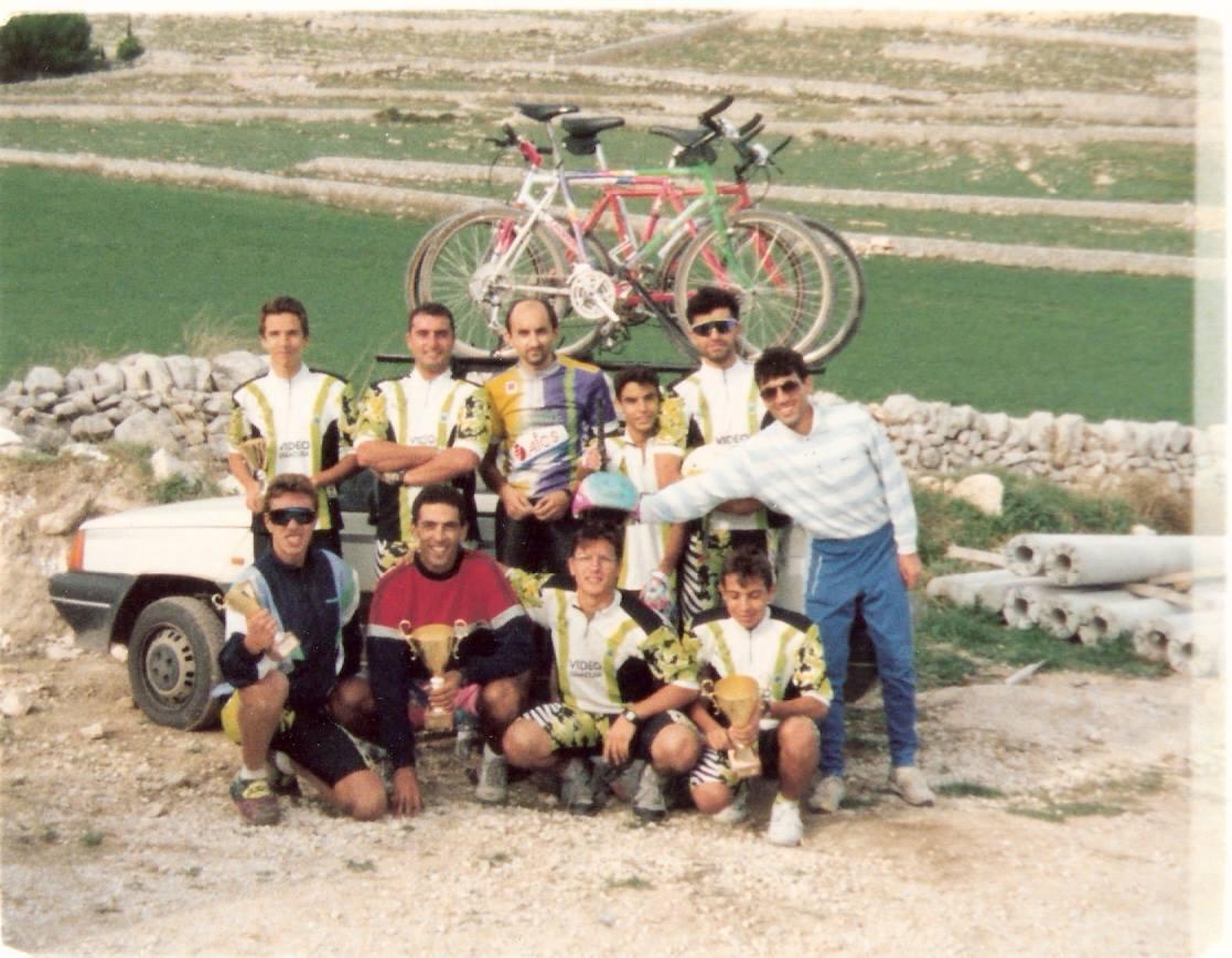 Foto di gruppo degli anni '90