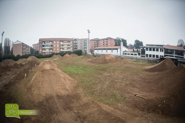 foto panoramica del Monza Pizza Bike Park e dei dintorni