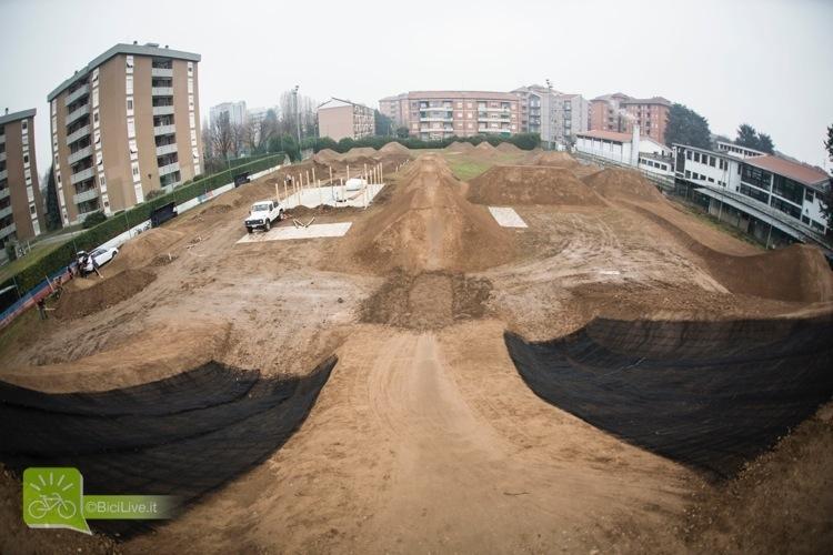 foto panoramica del Monza Pizza Bike Park