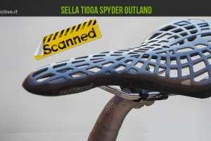 foto della sella mtb tioga spyder outland di profilo