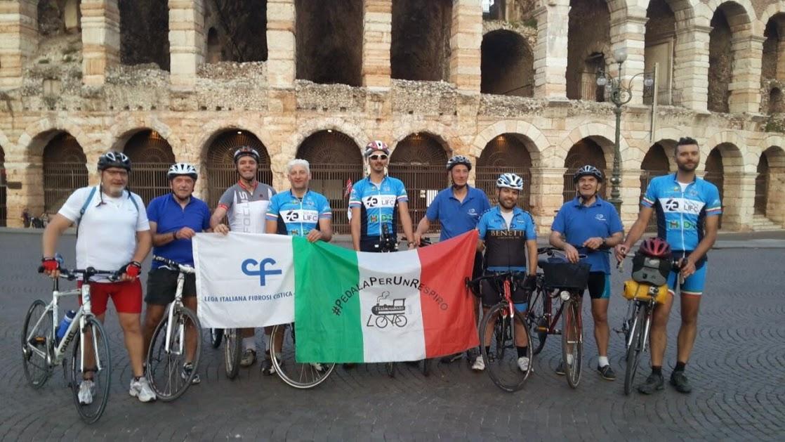 Il club mtb Ciclone ASD è sempre pronto ad aiutare gli altri organizzando pedalate benefiche