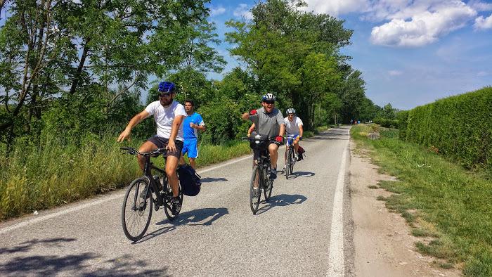 Il club mtb Ciclone ASD conosce molto bene il suo territorio e spesso organizza pedalate per trasmettere la passione per la bicicletta