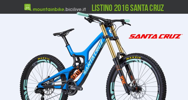 Santa cruz catalogo e listino prezzi 2016 catalogo e listino 2016 biciclette santa cruz thecheapjerseys Gallery
