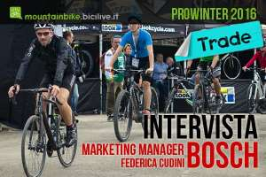 Intervista a Marketing Manager Bosch presente con motori ebike a Prowinter 2016