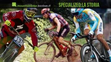 La storia del mitico marchio di biciclette americano Specialized