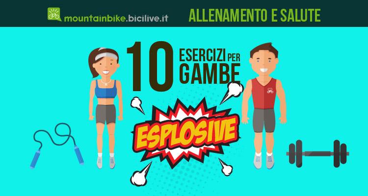 i 10 migliori esercizi per ciclisti per avere gambe esplosive