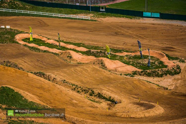 la pump track in terra del maggiora park