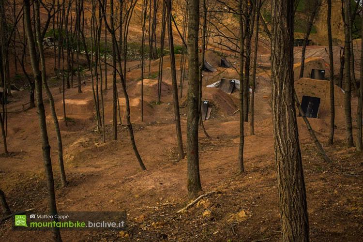 foto delle strutture per i salti al maggiora park