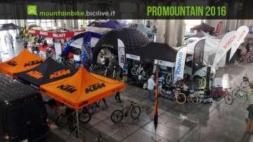 Promountain Bike Shop Test alla fiera Prowinter di Bolzano