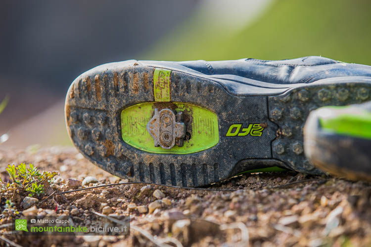 foto della suola della scarpa enduro Specialized 2fo cliplite