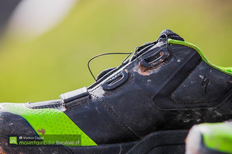 foto dell'allacciatura del Boa delle scarpe specialized 2fo cliplite