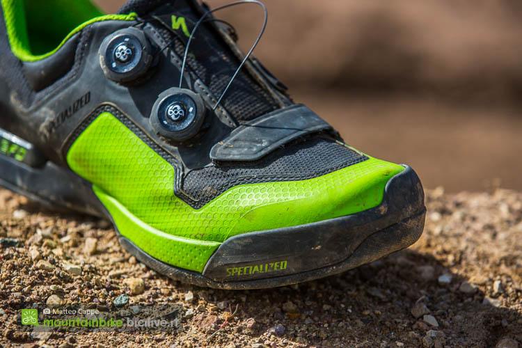 foto dell'allacciatura della chiusura Boa delle scarpe specialized 2fo cliplite
