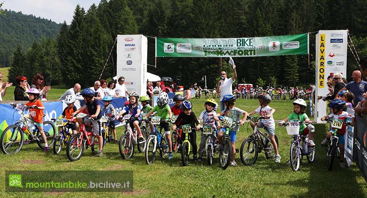 foto della gara per bambini e ragazzi mini1000grobbe