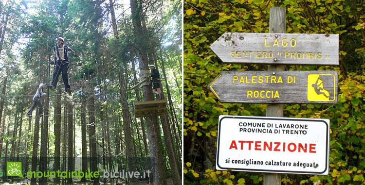 AcroPark Centa e una palestra di arrampicata