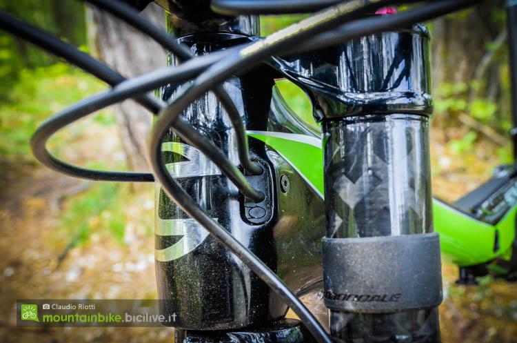 foto dei I passa cavi intercambiabili  della cannondale scalpel si