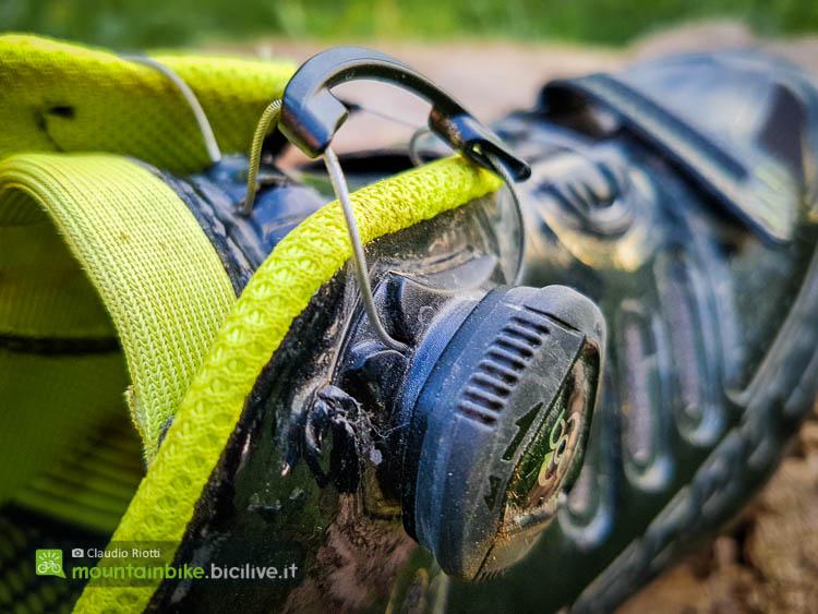 foto del sistema Boa delle scarpe mtb scott team boa