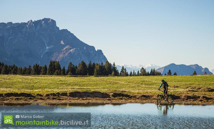 vacanze in bicicletta nell'alpe cimbra